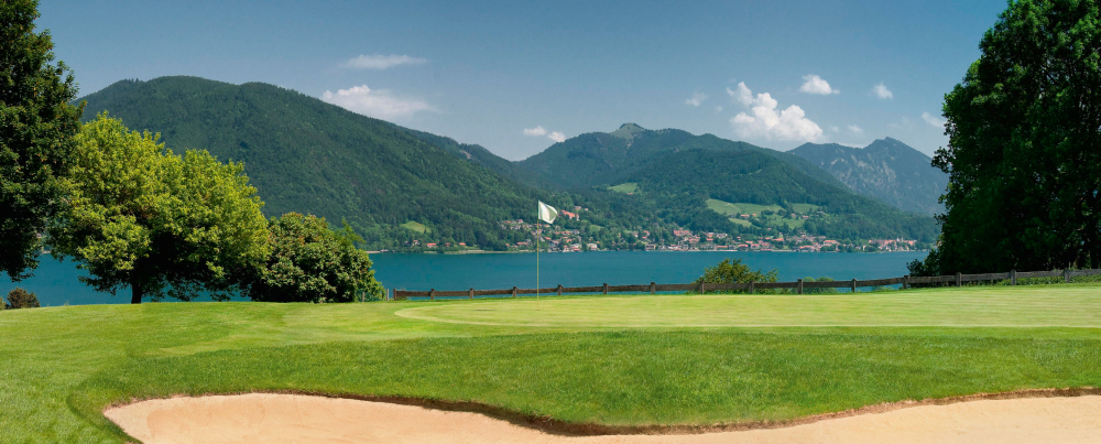 8th green, Tegernsee Golf Club - Bad Wiessee. Golf tours in Bavaria by bavaria4golf